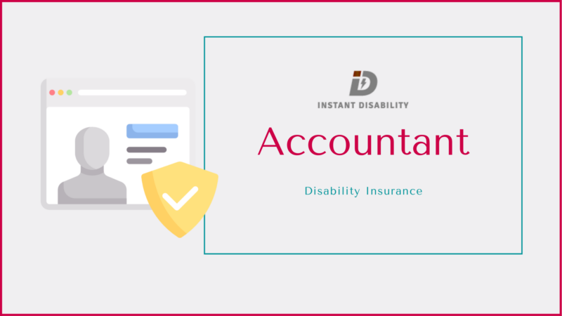 Accountant Disability Insurance