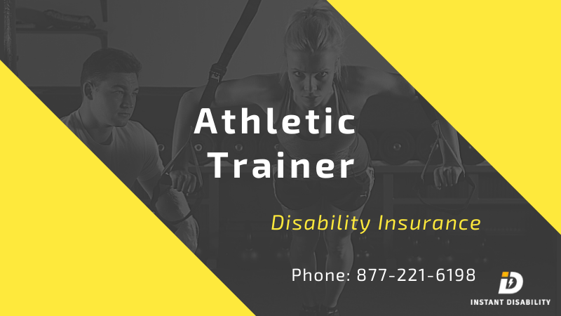 Athletic Trainer Disability Insurance