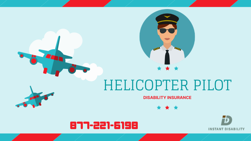 Helicopter Pilot Disability Insurance
