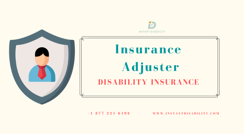 Insurance Adjuster Disability Insurance