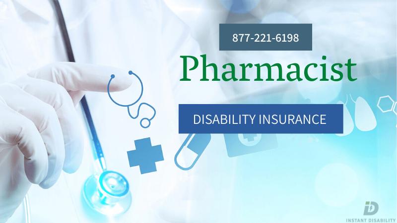 Pharmacist Disability Insurance