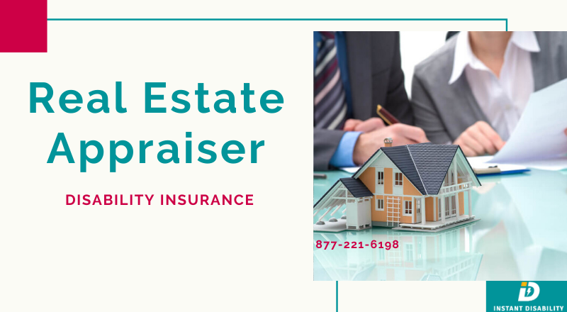 Real Estate Appraiser Disability Insurance