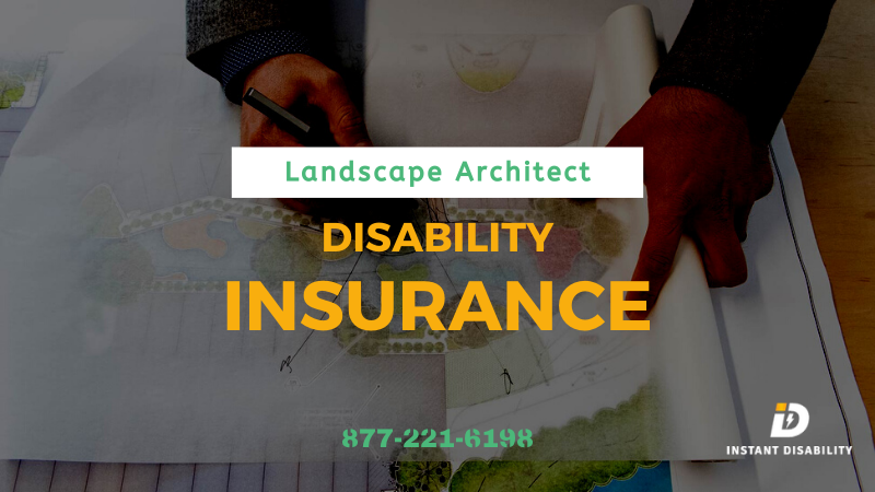landscape architect disability insurance
