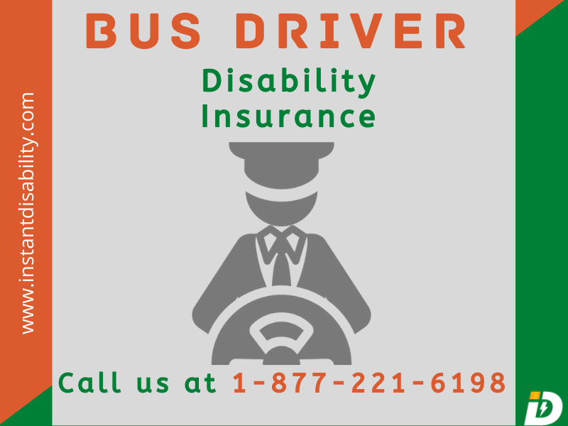 Bus Driver Disability Insurance