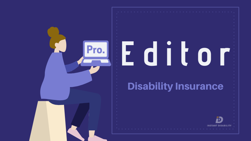 Editor Disability Insurance