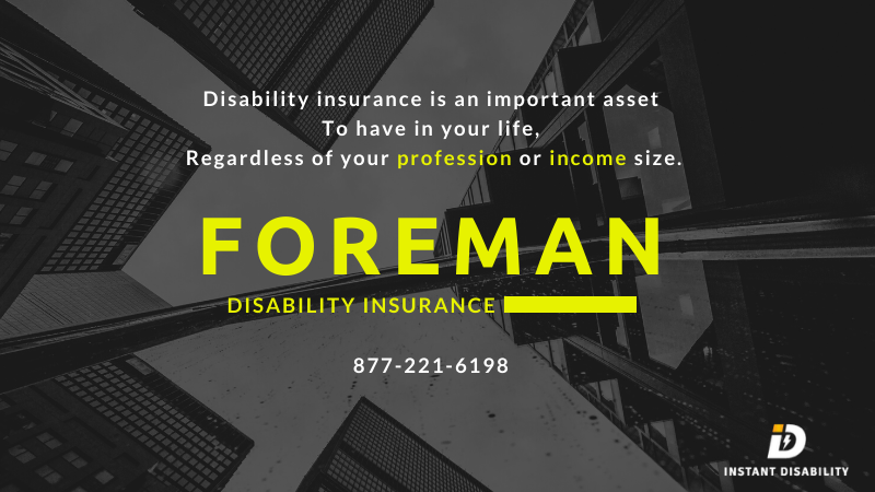 Foreman Disability Insurance