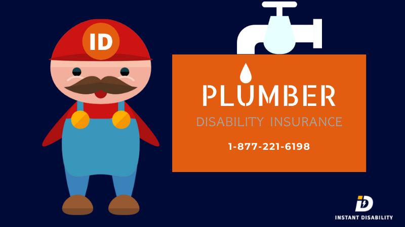 Plumber disability insurance