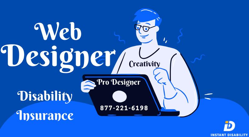 Web Designer Disability Insurance