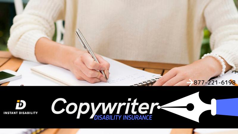 Copywriter Disability Insurance