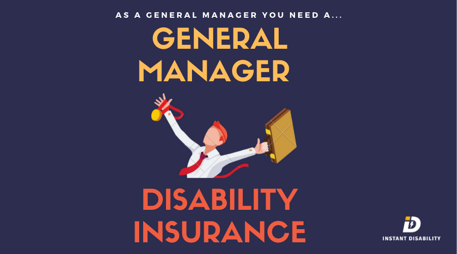 General Manager Disability Insurance