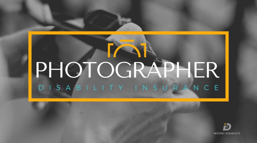 Photographer Disability Insurance