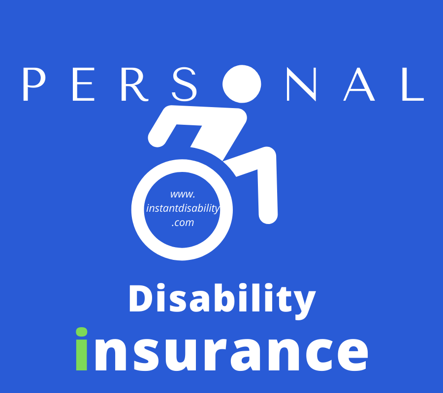 Personal Disability insurance