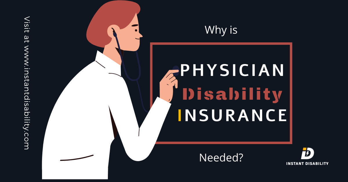 Why is Physician Disability Insurance So Important for Society