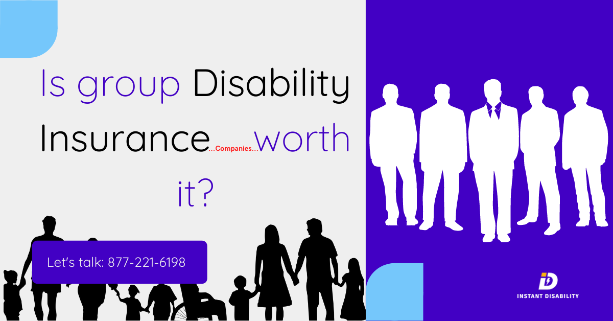 Is group disability insurance worth it